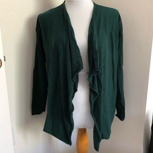 Old Navy Long Sleeve Open Cardigan - Dark Green M